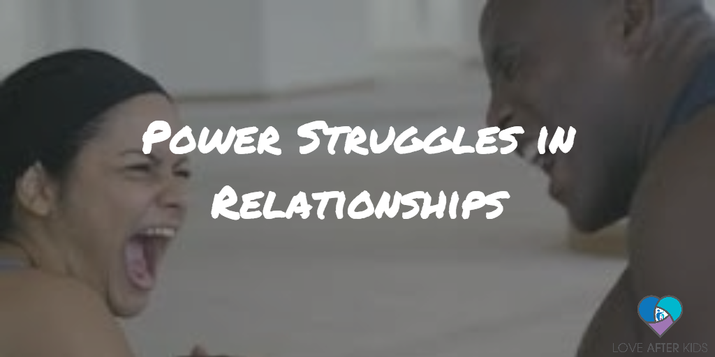 Power struggles in relationships